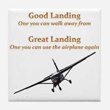 Good Landing/Great Landing Tile Coaster