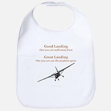 Good Landing/Great Landing Bib
