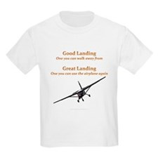 Good Landing/Great Landing T-Shirt
