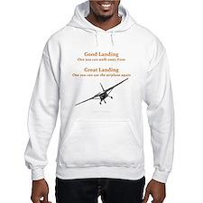Good Landing/Great Landing Hoodie