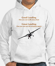 Good Landing/Great Landing Hoodie