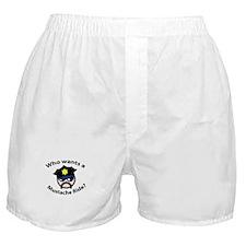 Mustache Ride Boxer Shorts