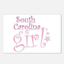 South Carolina Girl Postcards (Package of 8)