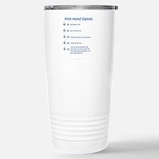 Hand Signals Travel Mug