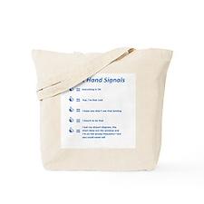 Hand Signals Tote Bag