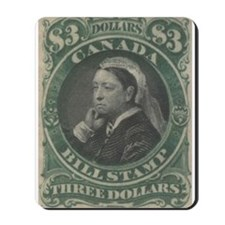Canada Bill Stamp $3 Mousepad