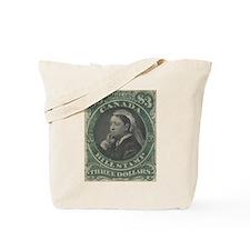 Canada Bill Stamp $3 Tote Bag