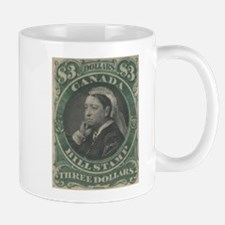 Canada Bill Stamp $3 Mug