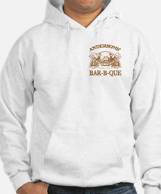 Anderson Family Name Vintage Barbeque Hoodie