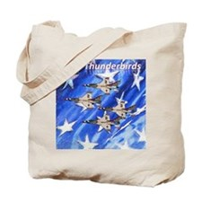 Thunderbirds, Flag Tote Bag