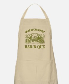 Johnson Family Name Vintage Barbeque BBQ Apron