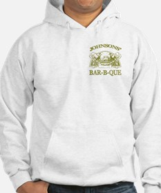 Johnson Family Name Vintage Barbeque Hoodie