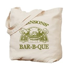 Johnson Family Name Vintage Barbeque Tote Bag