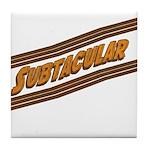 Subtacular Tile Coaster