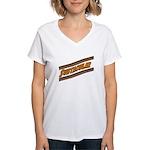 Subtacular Women's V-Neck T-Shirt