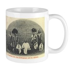 Native Zulu Chief Mug