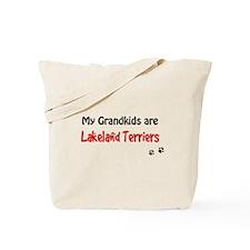 Lakeland Terrier Grandkids Tote Bag