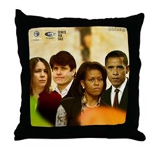 Senate For Sale Throw Pillow