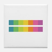 Funny Rainbows Tile Coaster