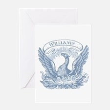 Williams Vintage Eagle Last Name Greeting Card