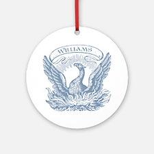 Williams Vintage Eagle Last Name Ornament (Round)