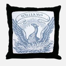 Williams Vintage Eagle Last Name Throw Pillow