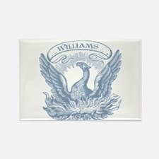 Williams Vintage Eagle Last Name Rectangle Magnet