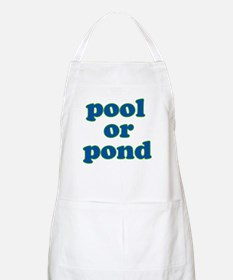 pool or pond BBQ Apron