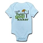 Future Field Goal Kicker Infant Bodysuit