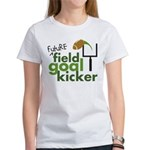 Future Field Goal Kicker Women's T-Shirt