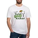 Future Field Goal Kicker Fitted T-Shirt