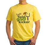 Future Field Goal Kicker Yellow T-Shirt