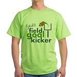 Future Field Goal Kicker Green T-Shirt