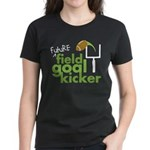 Future Field Goal Kicker Women's Dark T-Shirt