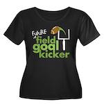 Future Field Goal Kicker Women's Plus Size Scoop N