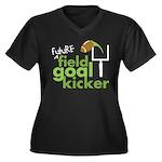Future Field Goal Kicker Women's Plus Size V-Neck