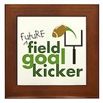 Future Field Goal Kicker Framed Tile