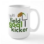 Future Field Goal Kicker Large Mug