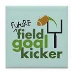 Future Field Goal Kicker Tile Coaster