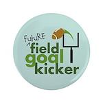 "Future Field Goal Kicker 3.5"" Button (100 pack)"