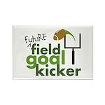Future Field Goal Kicker Rectangle Magnet (10 pack