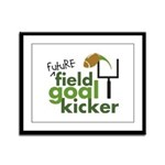Future Field Goal Kicker Framed Panel Print
