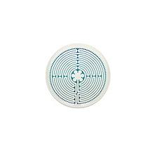 Chartre Labyrinth Mini Button
