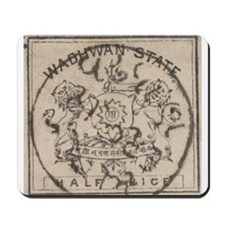Indian States Waduwan Mousepad