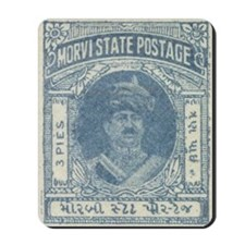 Indian States Morvi Mousepad