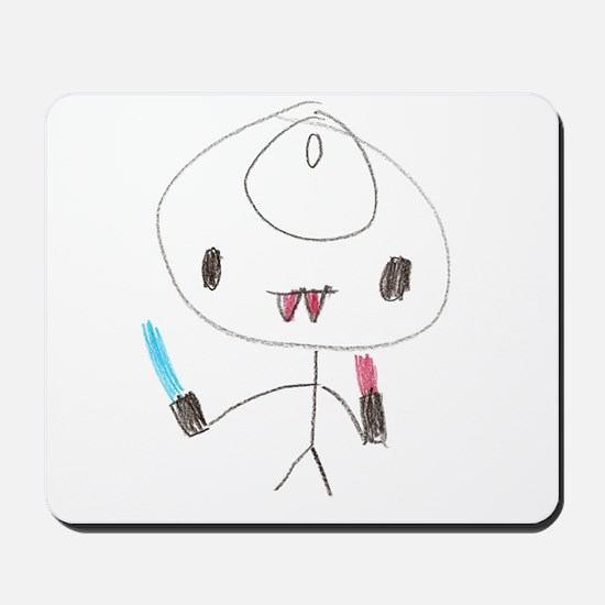 Dark Invader vII Mousepad