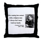 Nietzsche 6 Throw Pillow