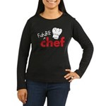 Future Chef Women's Long Sleeve Dark T-Shirt