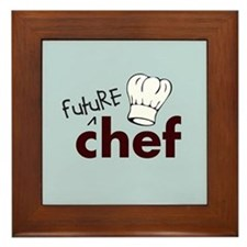 Future Chef Framed Tile