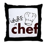 Future Chef Throw Pillow